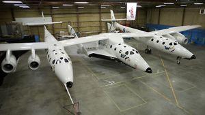 Virgin Galacticin avaruuslennoilla käyttämä kone
