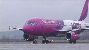 Wizz Airin lentokone.