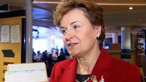 Europarlamentaarikko Anneli Jäättenmäki