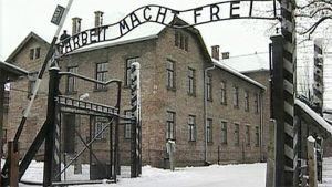 Auschwitzin keskitysleirin portti