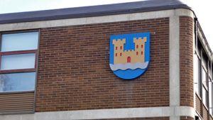 Kajaanin kaupungintalo vaakuna