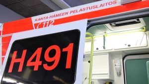 Kanta-Hämeen pelastuslaitos ambulanssi