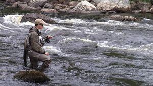 Huopankoski houkuttaa kalastajia, mutta alueelle halutaan myös muita matkailijoita.