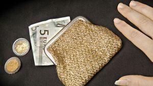 Rahakukkaro ja rahoja