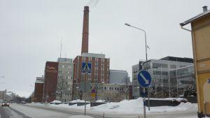 Turku Energian päärakennus.