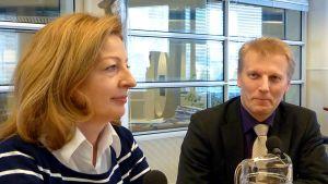 Anneli Kiljunen ja Kimmo Tiilikainen