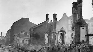 Pommitusten tuhoja