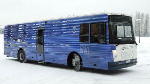 Jyväskylän uusi kirjastoauto Wiwi