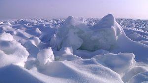 Jäätä on nyt koko Merenkurkussa.