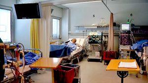 Dialyysiosasto Tampereen yliopistollisessa sairaalassa