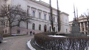 Suomen Pankin rakennus Helsingissä.