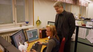 Uutisvuoksen päätoimittaja Harri Manskinen on asunut Imatralla vuodesta 1995 lähtien.