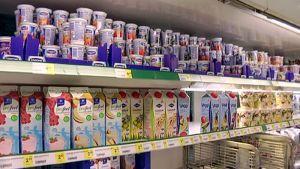 Jugurttia kaupan hyllyllä