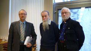 Antti Vanhanen, Jukka Luoto, Pertti Jurvanen