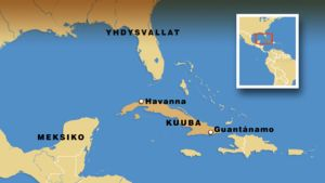 Kuuban kartta