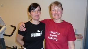 Uudenmaan Voimakaksikkopari Heidi Aaltonen ja Tiina Korhonen