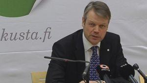 Kansanedustaja Timo Kaunisto (kesk.)