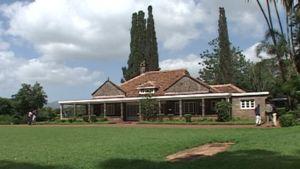 Karen Blixenin talo Keniassa Nairobissa.