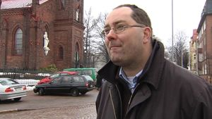 Katolisen tiedotuskeskuksen johtaja Marko Teraportti.