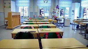 Tyhjä luokkahuone