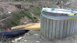 Kymppitien jätepiste Tammelassa