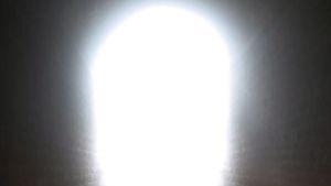 Valoa tunnelin päässä.