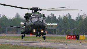 NH90-kuljetushelikopteri korvaa MI-8:n