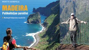 Madeira - patikoitsijan paratiisi -teoksen kansi