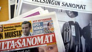 Ilta-Sanomat ja Helsingin Sanomat