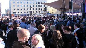 HPK:n kultajuhla Hämeenlinnan torilla 2006