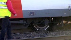 VR:n paikallisjuna suistui raiteilta vaihdevian takia
