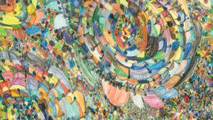 Martine Copenaut, Belgia: Nimetön (värikynä paperille)