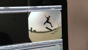 Videon editointia tietokoneella