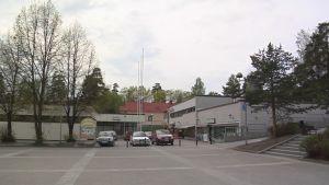 Kuopion Männistön ostoskeskus.