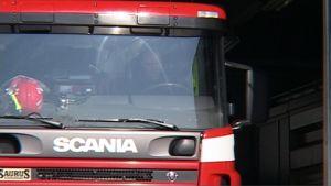 Pelastuslaitoksen paloauto