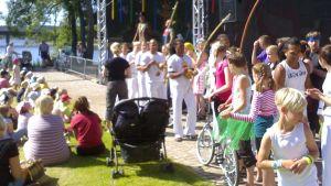 Hippaloiden konsertti Hämeenlinnassa