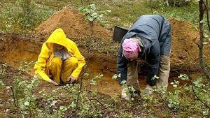 Arkeologisilla kaivauksilla