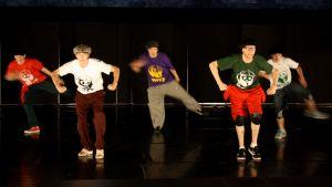 Will funk for food-ryhmä villitsi yleisöä vauhdikkaalla esityksellään.