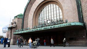 Helsingin rautatieaseman pääovi
