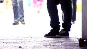 Nuorisoa jalkaperspektiivistä