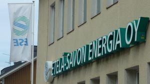 Etelä-Savon Energian konttori Mikkelissä.