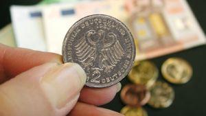 Vanha Saksan D-markka