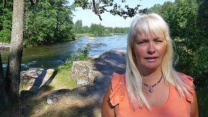 Marjo Raatikainen harrastaa laulua toisessa polvessa.