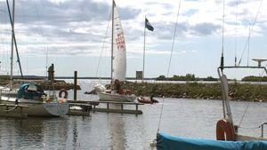 Veneitä Kemin Ulenin rannan satamassa.