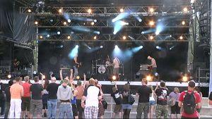Real Rockperryn lavalla soittaa Parazetamol.