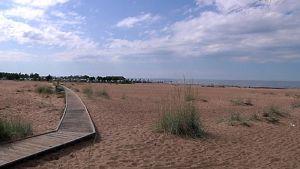 Kalajoen Hiekkasärkät ranta.