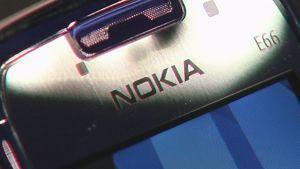 Lähikuva Nokian kännykästä