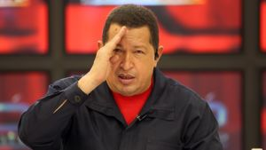 Venezuelan presidentti Hugo Chavez