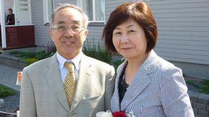 Japanin suurlähettiläspari Hiroshi ja Michiko Maruyama
