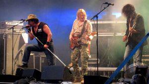 Popeda-yhtye Wanaja Festivalilla 2010.